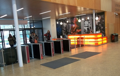 University of Westminster Entrance Lobby Reception