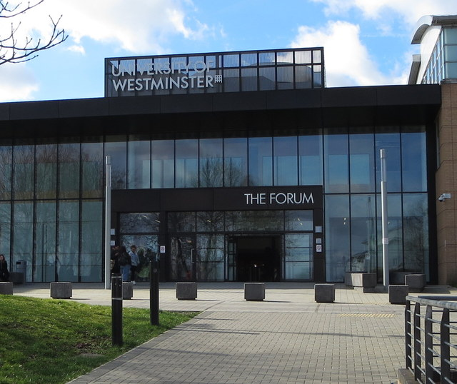 University of Westminster Harrow Preferred The Forum Entrance
