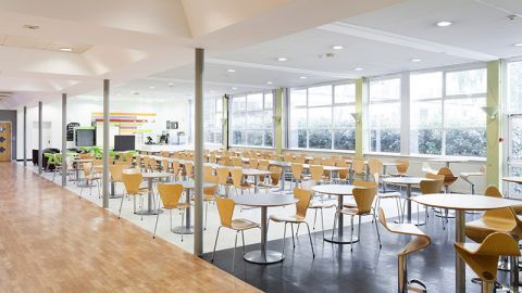 University of Westminster Cafeteria
